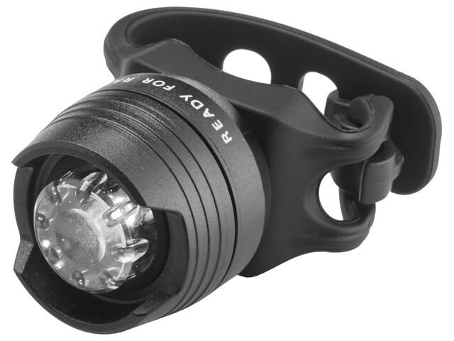 Cube RFR Diamond HQP - Éclairage vélo - white LED noir